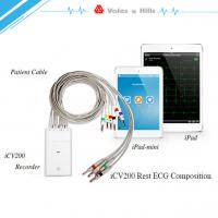 Best High Definition IOS IPad Handheld Ecg Machine With Wifi Bluetooth Transfer Data wholesale