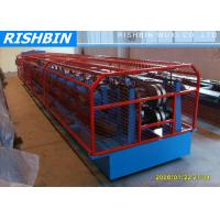 Quality 7.5 KW C Z Purlin Galvanized Sheet  Metal Roll Forming Machine with 15 - 20 m / min wholesale
