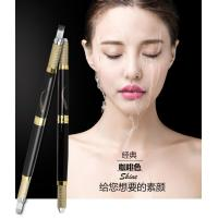 China Black Multifunctional Microblading Eyebrow Tattoo Pen Double Heads 30G OEM on sale
