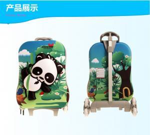 Best Animal Print Kids Trolley Luggage / Rolling Suitcase Luggage Custom wholesale