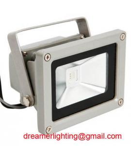 Best Colorful 10w RGB LED Flood Light Landscape Lamp + Remote Control wholesale