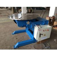 Best Manual Q235 Elevating Pipe Welding Positioners 2 Tons Capacity And 1200mm Table Diameter wholesale