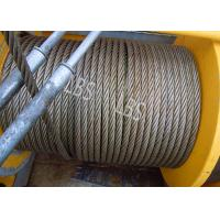 Best Three Layers Spooling Winch Drums with Lebus Grooving for Lifting Area wholesale