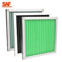 Buy cheap Minipleat pre-filter with aluminium frame  for primary filtration of air-conditioning system. from wholesalers