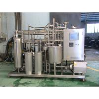 Best Industrial Yoghurt  / Ice Cream Pasteurizer 10 T / H With 52 M2 Heat Exchanging Area wholesale