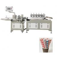 Best Disposable Paper Drinking 3 Color Straw Making Machine Fully Automatic wholesale