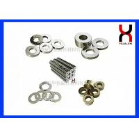 China Customized Ring Shaped Magnet / Industrial NdfeB Magnet Ring With Nickle Plating on sale