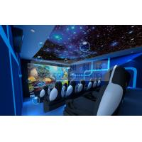 Best Motion Rides 5D Movie Theater Equipment 1 Seat 2 Seats 3 Seats With Electric System wholesale