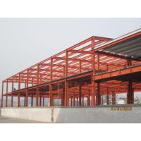 Cheap Industrial Large Pre Engineered Steel Buildings With Galvanization And Painting Treatment for sale