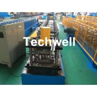 Best GCr15 Steel Roller Guide Rail Cold Roll Forming Machine With Hydraulic Cutting wholesale