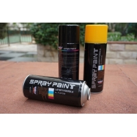 Best SGS Gold Water Based Acrylic Spray Paint 400ml Strong Covering Power wholesale