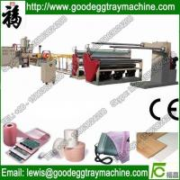 Cheap LDPE foam carpet underlay making machine for sale
