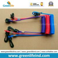 Best Hot Selling Plastic Spring String and Cotton Core Safety Hand Motor Switch Lanyard wholesale