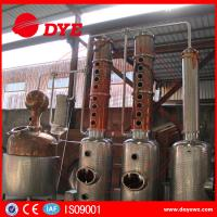 Best DYE Stainless Steel Ethyl Copper Distiller Alcohol Distillery Equipment wholesale