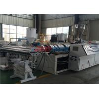 China Double Layer Glazed PVC Roof Tile Roll Forming Machine For 2 - 3mm Thickness Panel on sale