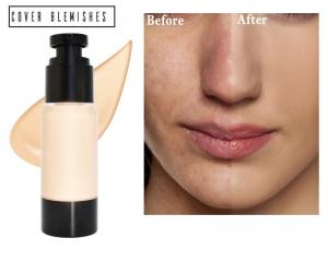 Best 30ml Weightless Waterproof Liquid Face Foundation OEM wholesale