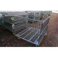 Best Wire Mesh Container with Wheel,Removable Mesh Container,5.0-7.0mm,5x10cm wholesale