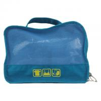 Best Blue Water Proof Ladies Canvas Travel Bag / Clothes Packing Bags wholesale