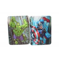 Best Eco-Friendly 3d Lenticular Image Cards 0.6mm PET Pantone Color UV Offset Printing wholesale
