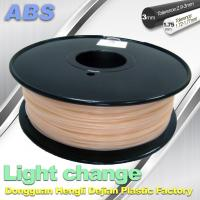 Best ABS Light Change Color Changing Filament Stable In Performance wholesale