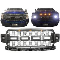 Best Ford 2018 New F150 Car Front Grille With Daytime Running Light Black Color wholesale
