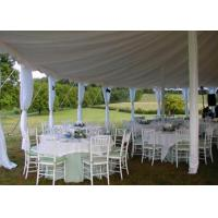 Cheap 25x40m Fireproof Aluminum Structure White Wedding Event , Outdoor Party Tent for sale