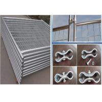 Best Temporary Security Fence Panels / Building Site Safety Fencing With Plastic Foot wholesale