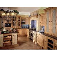 Buy cheap Wood fully assembled bathroom cabinets B-958 from wholesalers