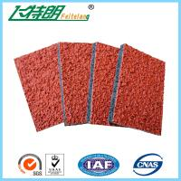 Cheap Spray Coat System Athletic Rubber Track Flooring Synthetic Run Track Mat wholesale