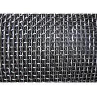 Best Smooth Hooked Galvanized Wire Mesh / Quarry Screen Mesh Low Carbon Steel wholesale