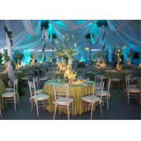 Cheap 1000 People Cheap Aluminum Alloy Waterproof And Fireproof Clear Wedding Canopy Tent for sale