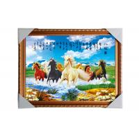 Cheap 3D Art Custom Lenticular Printing Pictures Offset Print PS Frame For Home for sale