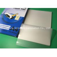 China High Brightness 100 Micron Laminating Pouches A4 Glossy With PET EVA Material on sale