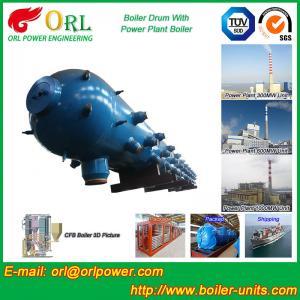Cheap Stainless Steel Boiler Mud Drum , Boiler Steam Drum SGS High Efficiency for sale