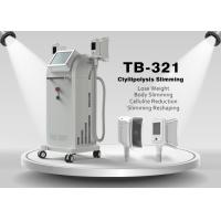 Best Vertical 1800W  Vacuum Cryotherapy Fat Freezing /  Weight Loss Cryolipolysis Machine wholesale