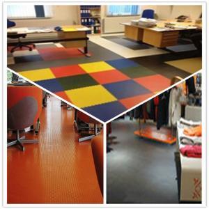 Best 3W Anti Slip Indoor Office Interlocking Removable Plastic PVC Floorommg Tiles wholesale