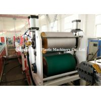 Best Exterior Wall Cladding PVC Profile Extrusion Machine Double Screw 1 Year Warranty wholesale