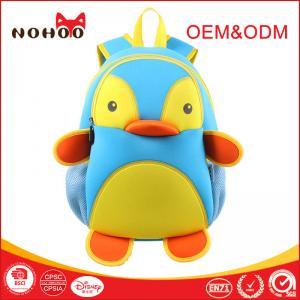 Best Trendy Penguin Design lovely Children School Bags / Hiking Backpack For Boys wholesale