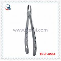 China Tooth Forceps TR-IF-650A For Upper Inciscors 1、2、3#-Adults on sale