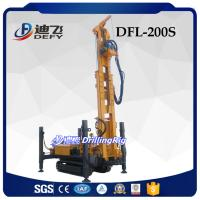 Cheap 260m Multi-purpose Down-to-hole Drilling Rig DFL-200S with DTH Bit and DTH Hammer for Hard Rock for sale