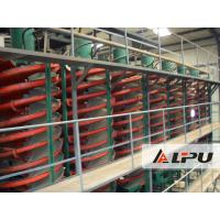 Best Beneficiation Equipment Spiral Chute Separator for Gold Iron Ore Processing wholesale
