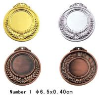 Best Blank Sport Medals accept put your logo on the middle of medal wholesale