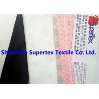 Best 320GSM Elastic Stretch Fabric Knit Polyester Suede Printed 147CM Garment Fabric wholesale