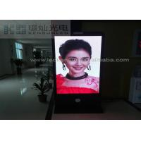Best High Definition P2.5 Multi Color Vertical Led Display Poster Stand 2200 nit Brightness wholesale