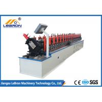 Best White Color Metal Stud And Track Roll Forming Machine UC Channel With H Punching wholesale