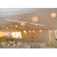 Cheap 1000 People Cheap Aluminum Alloy Waterproof And Fireproof Clear Wedding Canopy for sale