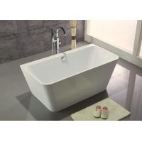 Cheap Acrylic Resin Square Freestanding Bathtub Contemporary Small Freestanding Bath 1500 for sale