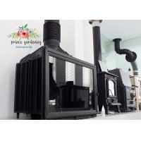 Cheap Comfortable Freestanding Cast Iron Fireplace Insert / Wood Burning Stove for sale