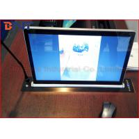Microphone Vertical Motorized LCD Monitor Lift With 17.3 Inch LED Screen