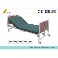 Best Medical Hospital Electric Beds , Hospital Wooden Bed with Aluminum Alloy Side Rail (ALS-ES012) wholesale